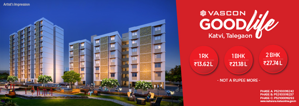Homes that offer a lot more: Vascon Goodlife at Katvi, Talegaon