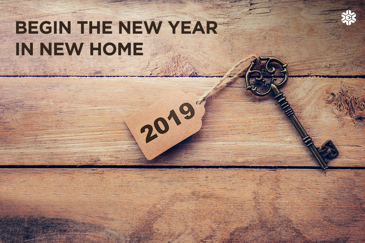 Begin the New Year in a New Home!
