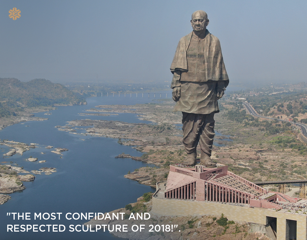 Statue of Unity: The Most Confidant and Respected Sculpture of 2018!