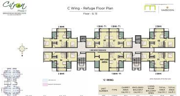 Citron C wing Refuge Floor Plan