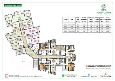 Forest County Building W First Floor Plan