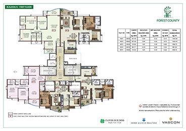 Forest County Building N First Floor Plan