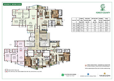 Forest County Building N Second Floor Plan