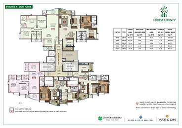 Forest County Building N Eight Floor Plan