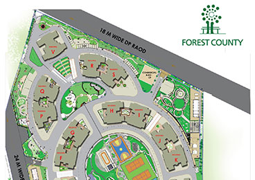 Forest County Master Layout