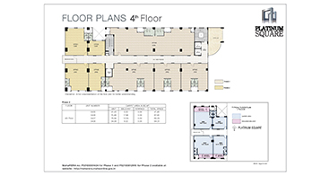 Platinum Square Typical Floor Plan