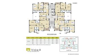 Vista Indiranagar G-Wing 9th Floor Plan