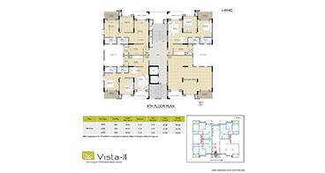 Vista I-Wing 8th Floor Plan