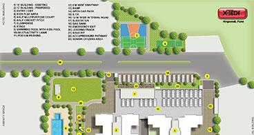 Xotech Homes 3 BHK Floor Plan
