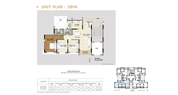 Xotech Homes 3 BHK Floor Plan
